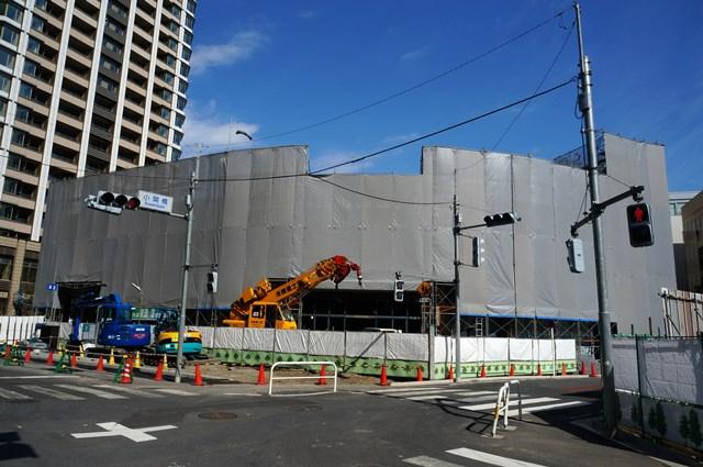 「店舗棟(E棟)」 2015年3月上旬