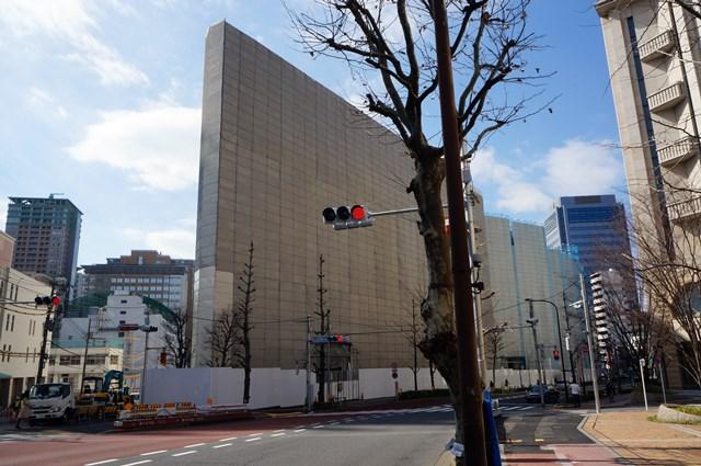 SONY旧本社ビル 2015年3月上旬