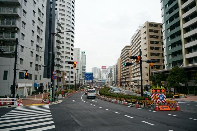 山手通り 大崎~五反田付近 2015.3.7