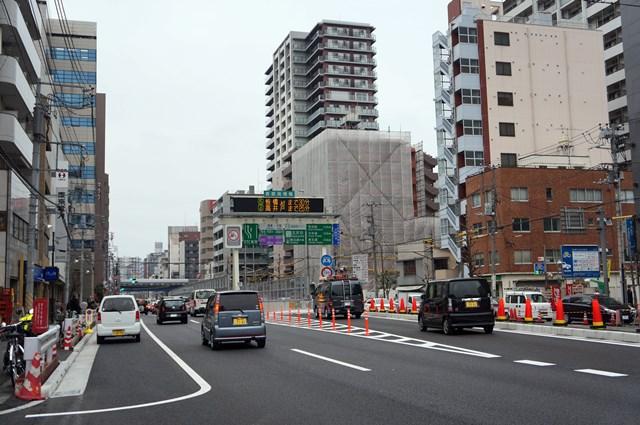 山手通り 五反田入口付近 2015.3.7