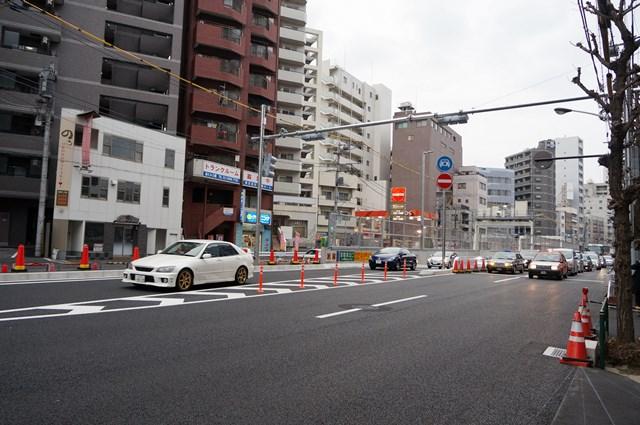 山手通り 五反田出口付近 2015.3.7
