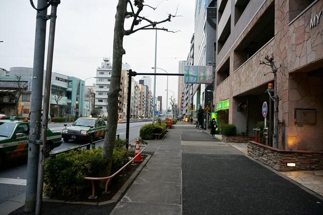 山手通り 目黒~中目黒付近 2015.3.7
