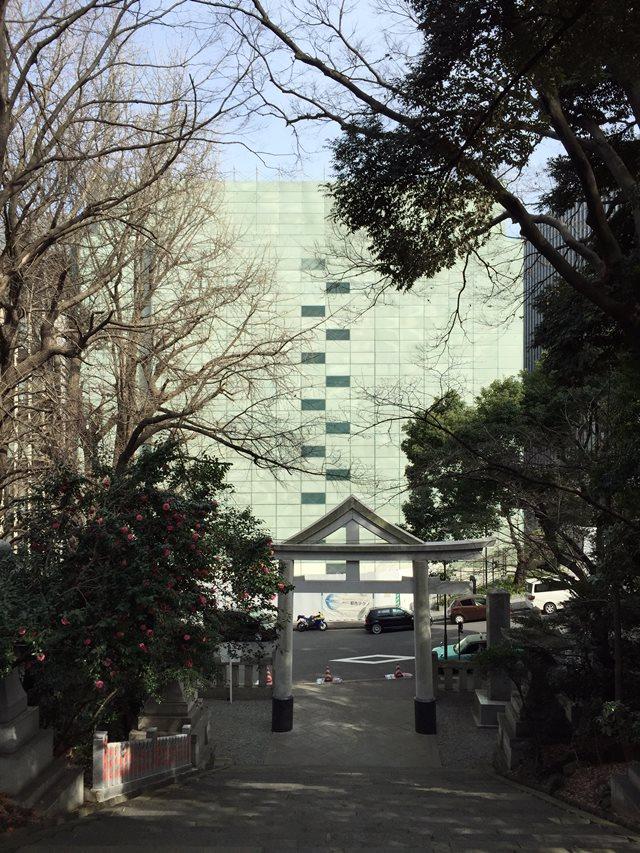 「永田町TBRビル」解体工事 2015年3月上旬