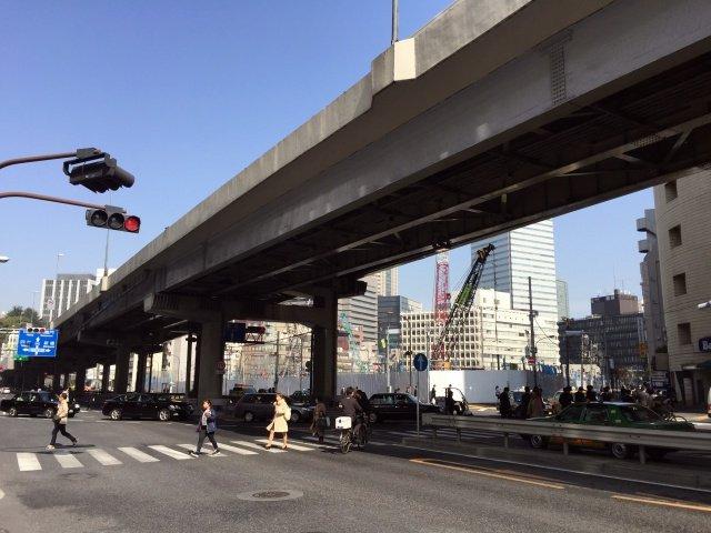 赤坂ツインタワー 2015年3月中旬