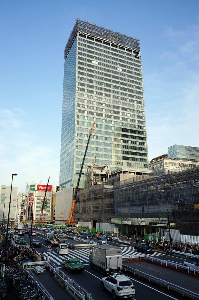 「新宿駅新南口開発ビル」 2015.4.18