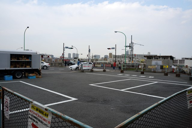 新川崎駅 タクシー乗り場 2015.4.25