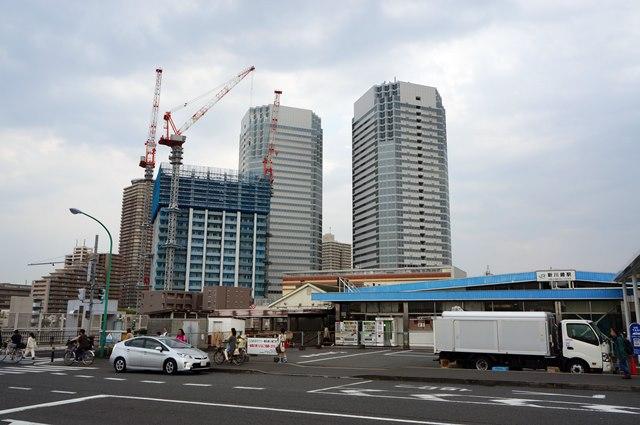 新川崎駅 2015.4.25