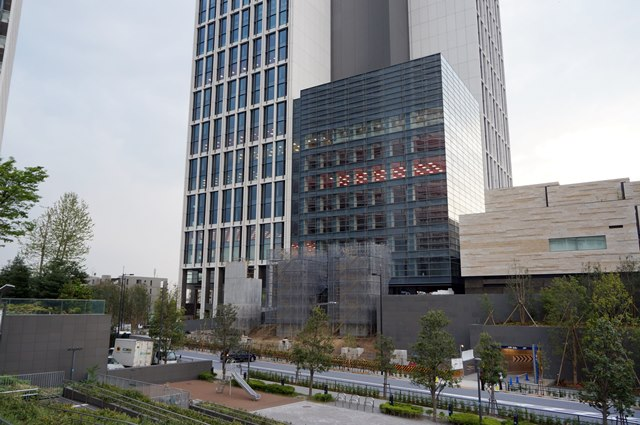 「二子玉川ライズタワーオフィス」 2015年4月25日