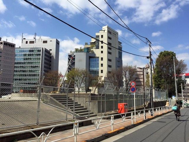 渋谷区役所仮設第二庁舎 2015.4.2