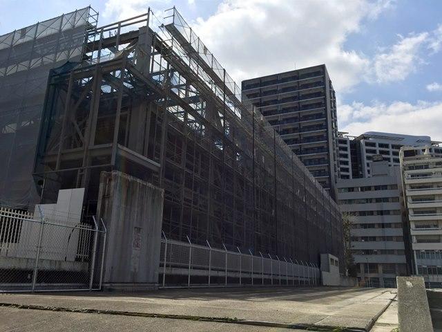 渋谷区役所仮設第一庁舎 2015.4.2