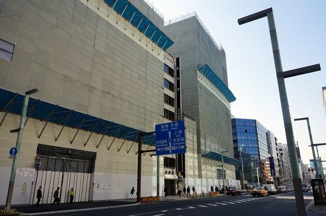 「日本橋室町三丁目地区第一種市街地再開発事業A地区新築工事」 2015.5.1
