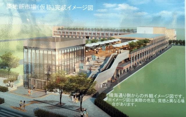 築地新市場 イメージ図