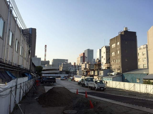 築地新市場(仮称) 2015.5.1